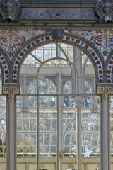 Palacio de Cristal in Madrid designed in 1887 to exhibit flora and fauna from the Philippines but now an art exhibition space.
