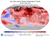 How the world has warmed since 1985. (Arctic, Antarctic omitted for limited data.)