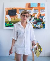 Sophia Hewson believes the gender bias in the art industry is brutal.