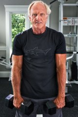 Greg Norman shared his fitness tips with golfing enthusiasts.
