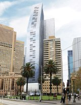 Grocon's proposal for 85 Spring Street has been rejected by Planning Minister Richard Wynne.