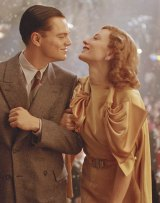 Leonardo DiCaprio and Cate Blanchett in <I>The Aviator</i>. Sandy Powell liked the dress so much she made one for herself.