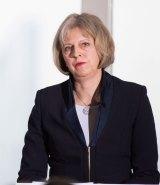 British Home Secretary Theresa May.