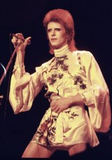 David Bowie's career didn't take off until he fabricated the elaborate Ziggy Stardust persona.
