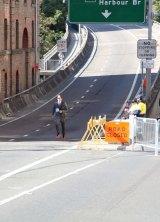 """The last 15-20 kilometres were really, really horrible,"" Matthew Whitaker said."