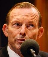 Former prime minister Tony Abbott.
