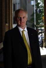 Angry: Ron McCallum, formerly dean of Sydney Law School and chair of the UN Committee on the Rights of Disabled Persons.