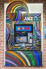 An ANZ GayTM in Oxford Street, Sydney.