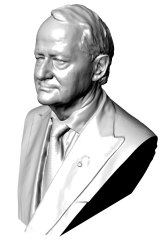 The Ruddock bust.