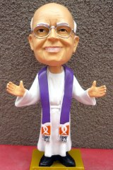 The Father Bob Maguire Foundation has produced a commemorative Father Bobblehead Action figure.