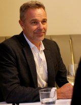 Actor, musician and radio presenter Cameron Daddo.