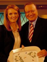 Bert Newton, pictured with Sarah Ferguson, has been a regular fixture on our televisions for more than four decades.