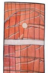 John Mawurndjul's Milmilngkan, (2008). Mawurndjul says he was inspired by a dream to make bigger bark paintings.