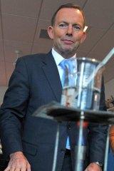 Tony Abbott in Geelong.