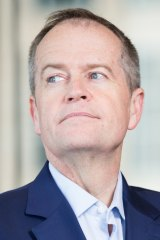 Labor leader Bill Shorten must be the luckiest man in politics.