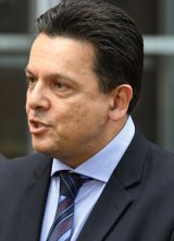 """The electronic locusts of the 21st century"": Senator Nick Xenophon."