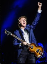 Paul McCartney on his One On One tour in 2016.