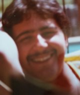 Anthony Virgona shortly after his marriage in late 1981.