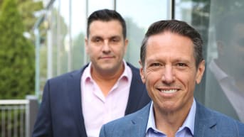 noni b chairman richard facioni front and ceo scott evans expect earnings to rise 21 per cent this year to 45 million james alcock