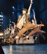 <i>Newsies</i> proved a big hit on Broadway, clocking up more than 1000 performances.