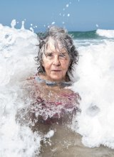 Sue Wiles, 76 from Wentworth Falls, says being in the water feels like home.