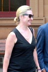 Senior Crown Prosecutor Margaret Cunneen leaves Darlinghurst Court last week.