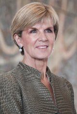 Julie Bishop has sought an assurance from Nauru.