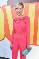 The modern day Marilyn Monroe: Scarlett Johansson at the MTV Movie Awards in April.