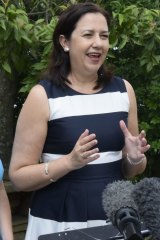 Education Minister Kate Jones and Premier Annastacia Palaszczuk under fire as Cairns MP Rob Pyne asks about funding for Cairns State High School.