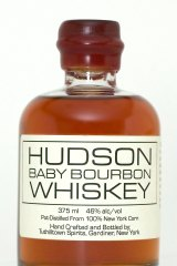 The finished product: Hudson Baby Bourbon.