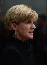 Still loyal: Foreign Affairs Minister Julie Bishop.