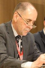 Chief Medical Officer Chris Baggoley.