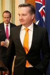 Super in crosshairs: Shadow treasurer Chris Bowen.