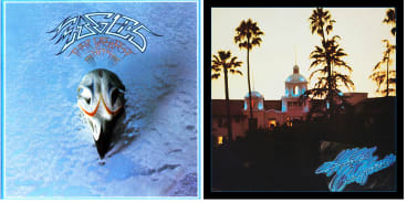 The Eagles' Greatest Hits and Hotel California are now the number one and three best-selling albums of all time.