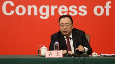 Qi Yu, Vice Minister of Organisation Department of the CPC Central Committee, wants Communist Party units in all foreign companies.