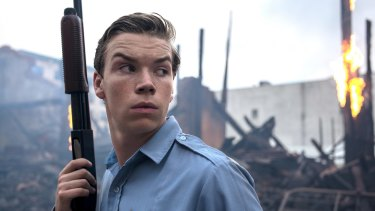 Will Poulter plays the sadistic and racist police officer Philip Krauss in <I>Detroit</I>.