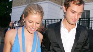 """""""I care about him enormously,"""" Miller told the latest issue of Porter magazine about ex fiance Jude Law."""