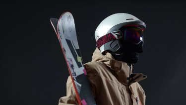 The Alpine helmet created by Forcite Helmet Systems.
