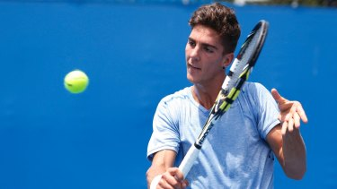 Thanasi Kokkinakis has reached his maiden ATP World Tour semifinal in Los Cabos