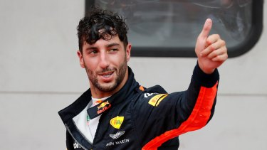 Pass master: Daniel Ricciardo.