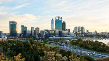 Perth is seeing a boom in apartment construction.