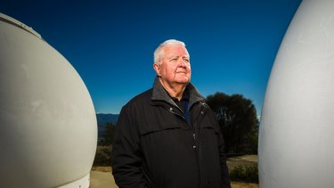 Ian Chubb recalls the reopening of the observatory after it was destroyed in the 2003 bushfires.