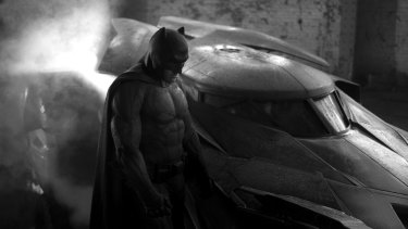 The dark side: Ben Affleck as Batman.