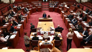 Photography will now be permitted in the Senate without any restrictions.