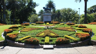 Melbourne's floral clock is turning 50.