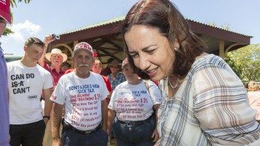 Annastacia Palaszczuk says she is ready to lead Queensland.