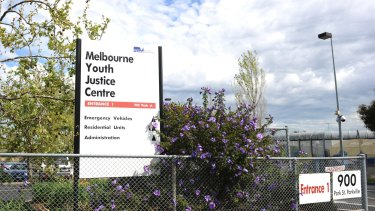 The Parkville centre is being repaired after it was badly damaged during a riot late last year.