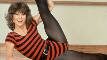 Jane Fonda made jazzercise cool.