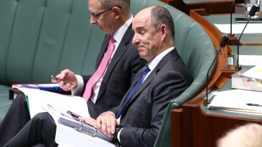 Stuart Robert left PM Malcolm Turnbull no option but to sack him.