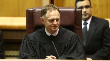 Justice Stephen Gageler of the High Court.